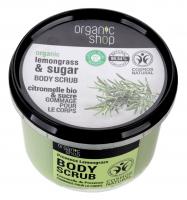 ORGANIC SHOP - BODY SCRUB - Body peeling - Lemongrass from Provence - 250 ml