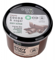 ORGANIC SHOP - BODY SCRUB - Peeling do ciała - Belgijska czekolada - 250 ml