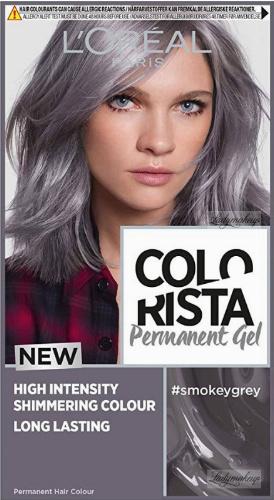 L'Oréal - COLORISTA Permanent Gel - Trwała koloryzacja do włosów - #SMOKEYGREY