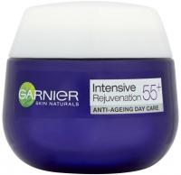 GARNIER - SKIN NATURALS - Intensive Restore 55+ - Przeciwzmarszczkowy krem do twarzy (ekstrakt z roślinnych komórek macierzystych + peptydy ryżowe) - Dzień - 50 ml