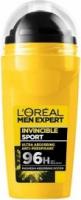 L'Oreal - MEN EXPERT - INVINCIBLE SPORT ANTI-PERSPIRANT 96H - Antiperspirant roll-on for men - 50 ml