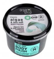 ORGANIC SHOP - BODY POLISH - Body scrub - Atlantic Seaweed - 250 ml
