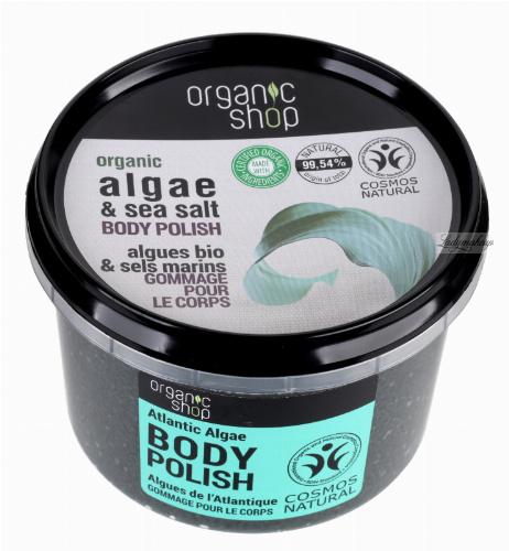 ORGANIC SHOP - BODY POLISH - Peeling do ciała - Atlantyckie Wodorosty - 250 ml