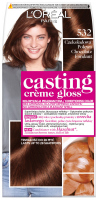 L'Oréal - Casting Créme Gloss - Hair coloring without ammonia - 532 Chocolate Glaze