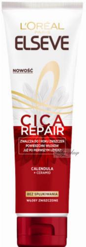 L'Oreal - ELSEVE - CICA REPAIR - Odbudowujący balsam do włosów zniszczonych - 150 ml