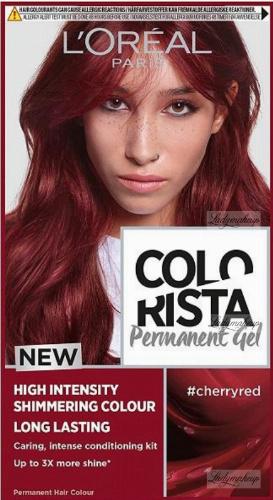 L'Oréal - COLORISTA Permanent Gel - Trwała koloryzacja do włosów - #CHERRYRED