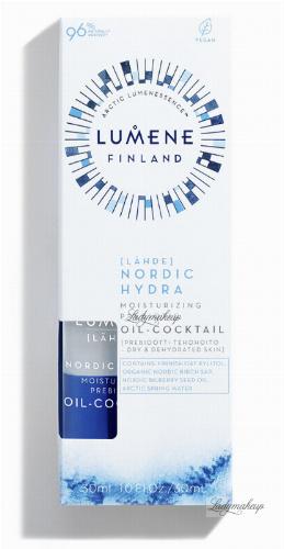 LUMENE - LAHDE - NORDIC HYDRA - MOISTURIZING PREBIOTIC OIL COCTAIL - Nawilżający koktajl prebiotyczny - 30 ml