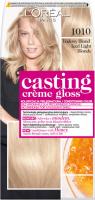 L'Oréal - Casting Créme Gloss - Pielęgnacyjna koloryzacja bez amoniaku - 1010 Lodowy Blond