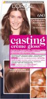 L'Oréal - Casting Créme Gloss - Pielęgnacyjna koloryzacja bez amoniaku - 680 Czekoladowe Mochaccino