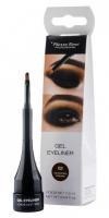 Pierre René - Gel Eyeliner - Wodoodporny eyeliner - 02 EXCENTRIC BROWN