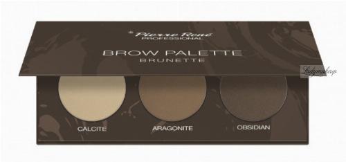 Pierre René - Brow Palette - Paleta cieni do brwi - 03 Brunette