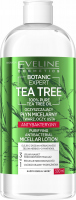 Eveline Cosmetics - BOTANIC EXPERT - Tea Tree Micellar Lotion - Antibacterial Micellar Water - 500 ml