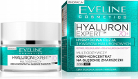 Eveline Cosmetics - HYALURON EXPERT 70+ Multi-nourishing cream concentrate for deep wrinkles - Day / Night - 50 ml