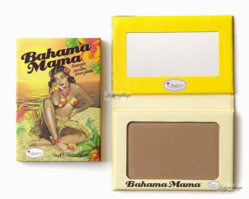 THE BALM - BAHAMA MAMA - Puder brązujący do twarzy
