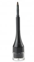 VIPERA - Mineral Brow & Eye Liner - Mineralny Liner do brwi i powiek - 01 - COAL - 01 - COAL