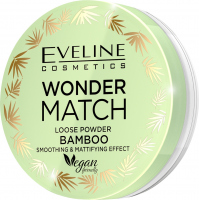 Eveline Cosmetics - WONDER MATCH LOOSE POWDER BAMBOO - Smoothing and matting bamboo powder - 6 g