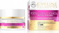 Eveline Cosmetics - 100% bioBAKUCHIOL - Przeciwzmarszczkowy krem silnie wygładzający do twarzy 40+ Dzień / Noc - 50 ml