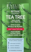 Eveline Cosmetics - BOTANIC EXPERT TEA TREE - Liquid Hand Soap - Nawilżające mydło w płynie - Antybakteryjne - 75 ml
