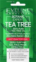 Eveline Cosmetics - BOTANIC EXPERT TEA TREE - GEL FACE MASK - Oczyszczająca żelowa maseczka do twarzy - Antybakteryjna - 7 ml