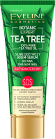 Eveline Cosmetics - BOTANIC EXPERT TEA TREE - Highly nourishing hand cream-serum with shea butter - Antibacterial - 40 ml