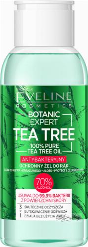 Eveline Cosmetics - BOTANIC EXPERT TEA TREE - HAND GEL - Antibacterial, protective hand gel - 70% alcohol - 100 ml