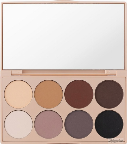 PAESE - Mattlicious Eyeshadow Palette - Palette of 8 matte eye shadows