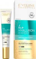 Eveline Cosmetics - Bio Hyaluron Expert - Liftingujący, multiodżywczy krem pod oczy i na powieki - Dzień / Noc - 20 ml