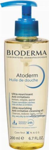 BIODERMA - Atoderm Huile De Douche - Cleansing Oil - Moisturizing bath and shower oil - 200 ml