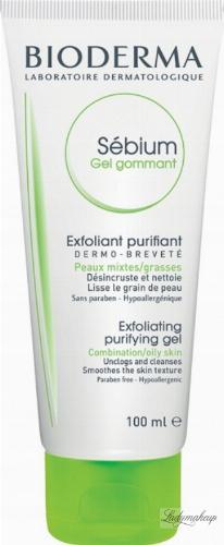 BIODERMA - Sebium Gel Gommant - Exfoliating Purifying Gel - Cleansing exfoliating gel - Face peeling - 100 ml