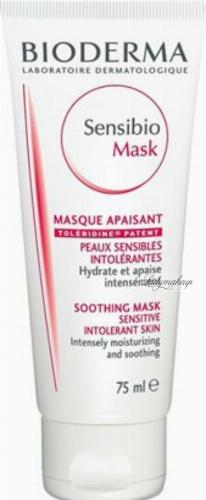 BIODERMA - Sensibio Mask - Soothing Mask - Łagodząco-nawilżająca maseczka do twarzy - 75 ml
