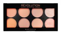 MAKEUP REVOLUTION - Ultra Blush Palette HOT SPICE