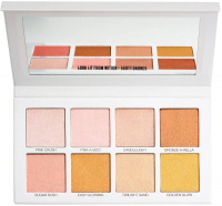 Scott Barnes - Glowy & Showy No.1 Highlighter Palette - Palette of 8 highlighters