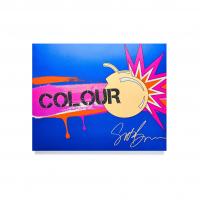 Scott Barnes - Colour Bomb No.1 Eyeshadow Palette - Paleta 20 pigmentów do powiek