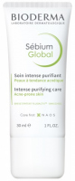 BIODERMA - Sebium Global - Intensive Purifying Care - Krem przeciwtrądzikowy o globalnym działaniu - 30 ml