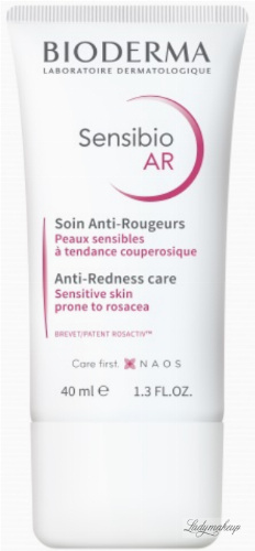 BIODERMA - Sensibio AR - Anti-Redness Care - Face cream with vascular problems - 40 ml