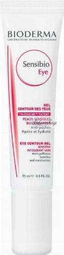 BIODERMA - Sensibio Eye - Eye Contour Gel - Kremowy żel pod oczy - 15 ml