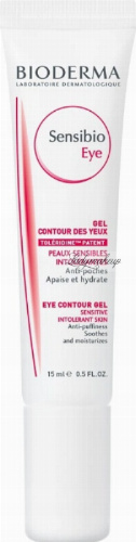 BIODERMA - Sensibio Eye - Eye Contour Gel - Cream eye gel - 15 ml