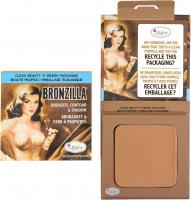 THE BALM - BRONZILLA - Bronzer, Contour & Shadow - Matte bronzer and eye shadow - 8.5 g