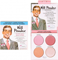THE BALM - WILL POWDER - BLUSH QUAD - Zestaw 4 róży