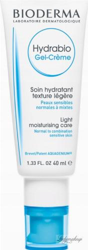 BIODERMA - Hydrabio Gel Creme - Light moisturizing face cream - 40 ml