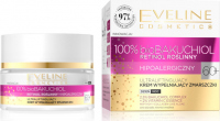 Eveline Cosmetics - 100% bioBAKUCHIOL - Ultraliftingujący krem do twarzy wypełniający zmarszczki 60+ Dzień / Noc - 50 ml