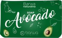 BARWA - BARWA NATURALNA - Odżywczo-nawilżające mydło do rąk i ciała w kostce - Awokado - 100 g