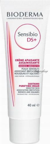 BIODERMA - Sensibio DS + Soothing Purifying Cream - Anti-irritation cream - 40 ml
