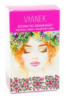 VIANEK - Make-up removal kit - Oil 150 ml + Cotton washcloth