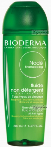 BIODERMA - Node Shampooing - Non-Detergent Fluid Shampoo - Gentle shampoo for daily use - 200 ml