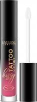 Eveline Cosmetics - Kissy Tattoo Lip Tint - Długotrwała pomadka do ust w płynie - 4,5 ml