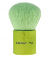 Bdellium tools - Green Bambu Series - Kabuki - Pędzel do podkładu, pudru, różu, brązera - 995B