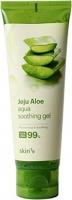 Skin79 - Jeju Aloe Aqua Soothing Gel - Aloe Vera 99% - Wielofunkcyjny łagodzący żel aloesowy - 100 g