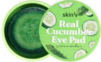 Skin79 - Real Cucumber Eye Pad - Moisturizing and soothing cucumber eye pads - 30 pcs. - CUCUMBER