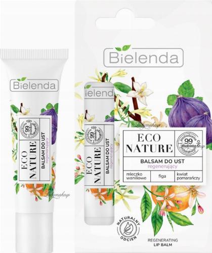 Bielenda - ECO NATURE - REGENERATING LIP BALM - Regenerujący balsam do ust - 10 g